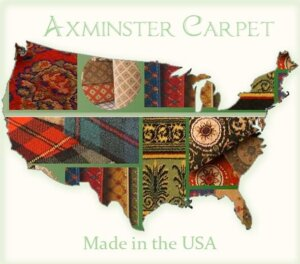 Axminster Carpet Made in the USA map image