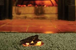Ember Carpet Burn Scorch Mark
