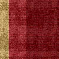 Stripe Border - Crimson
