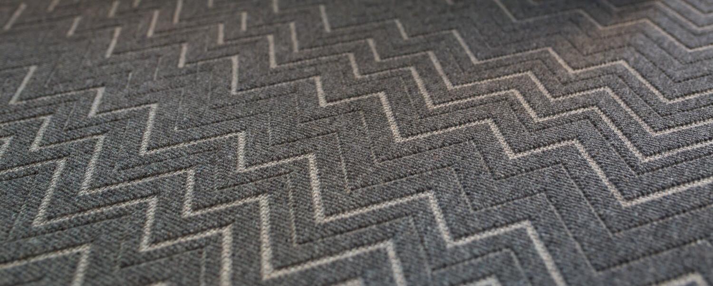 Grey Elroy Chevron Pattern