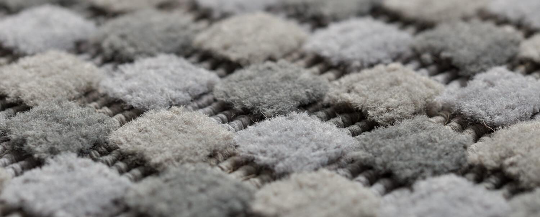 Light Grey Pom Pom Closeup