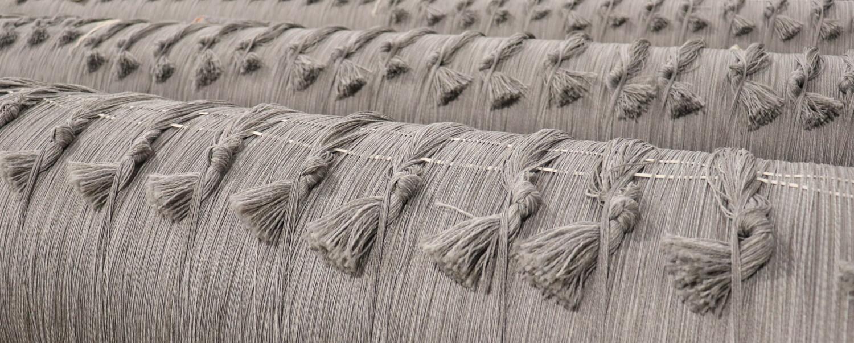 Grey velvet Loom